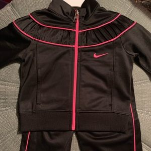Nike girl's track suit